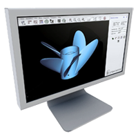monitor_with_3d_printed_part