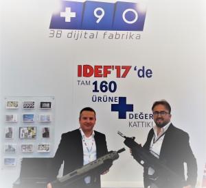 +90 3B Dijital Fabrika'dan, KOSGEB Destekli Tüfek Projesine Destek!