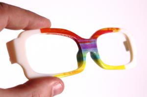 Eye glasses_8 printed_J750